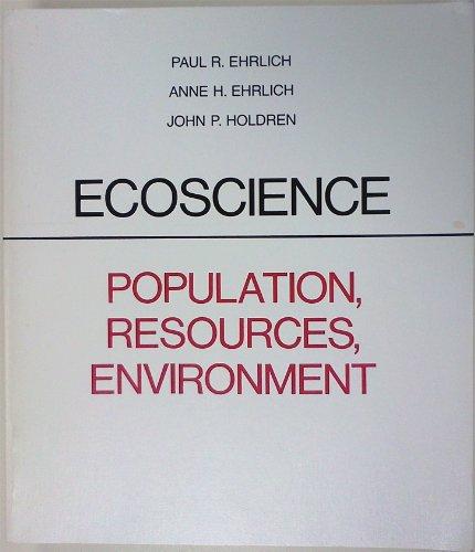 Ecoscience: Population, Resources, Environment
