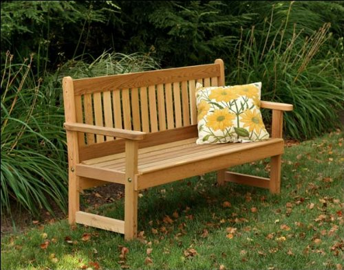 Cedar English Garden - Fifthroom 4' Red Cedar English Garden Bench
