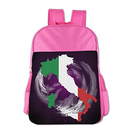 DS-CO Kid Italy Flag Map Backpack Shoulder Bag Students Schoolbag For - Sale Tortoise For Nz