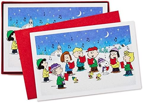 40 Cards with Envelopes Church Blessings Hallmark Boxed Christmas Cards /& Boxed Christmas Cards Peanuts Gang 40 Cards and 40 Envelopes