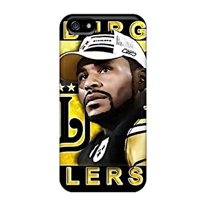 Waterdrop Snap-on Pittsburgh Steelers Cases For Iphone 5/5s