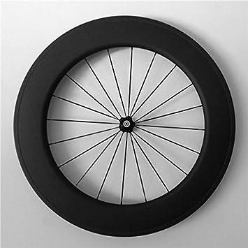 YouCan bicicleta 700 C Tubular de carbono carretera bicicleta ruedas 88 mm altura 23 mm Ancho 29er ruedas: Amazon.es: Deportes y aire libre