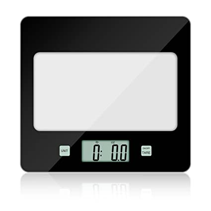 CUSIBOX Báscula de Cocina Digital, Cusi Caja Digital Báscula, 5 kg x 1 g