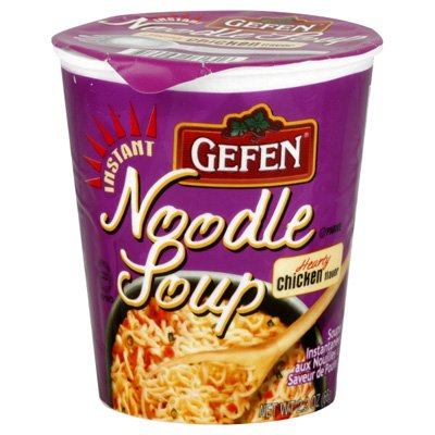 Gefen Cakes, Gefen Chicken Noodle Soup, 2.3-Ounce (Pack of 12)