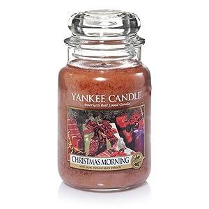 Amazon.com : 1341015 Christmas Morning 22 ounce Large Jar Yankee ...