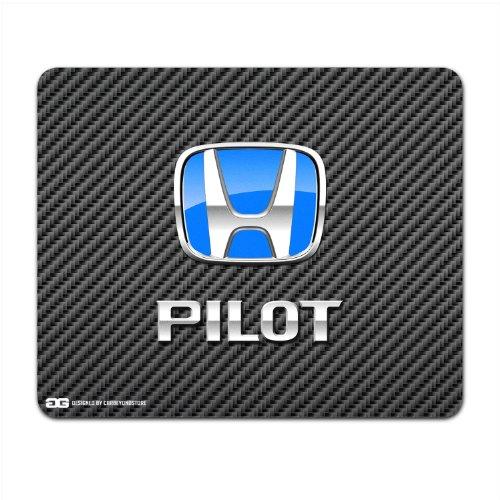 honda-pilot-blue-logo-carbon-fiber-look-computer-mouse-pad