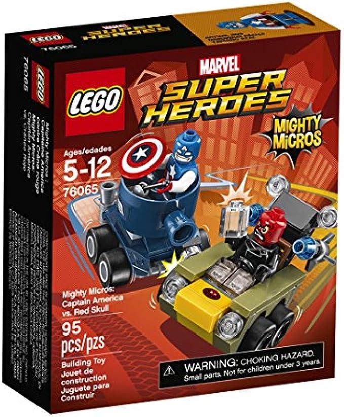 LEGO  Super Heroes Captain America vs Red Skull (76065)