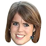 Princess Eugenie of York Celebrity Mask, Card Face and Fancy Dress Mask