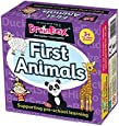 Brain Box Animales First Animals, Juego de Mesa,, 17x17 (31690073A)