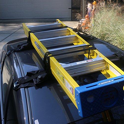 Self Inflatable Car Roof Rack Ski Rack Snowboard