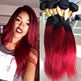 18 inch bright red full head human hair weave for sew in or glue diy 12 26 inches 100g human hair weftgrade aaa 100 virgin pmusecretfo Gallery