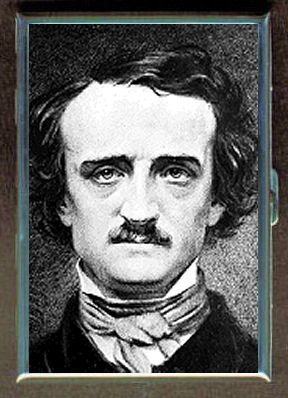 Edgar Allan Poe Old Photograph Double-Sided Cigarette Case, ID Holder, Wallet with RFID Theft (Old Cigarette Holders)