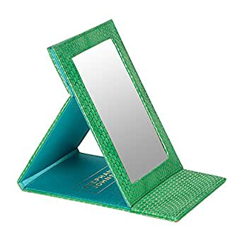 Stephanie Johnson Women's Havana Folding Mirror, Green
