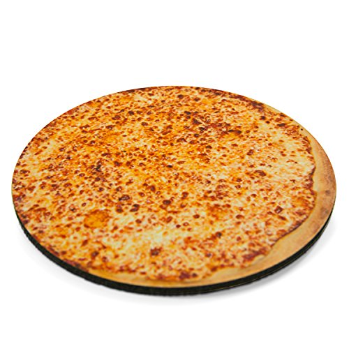 Delicious Cheesy Pizza Round Mouse Pad