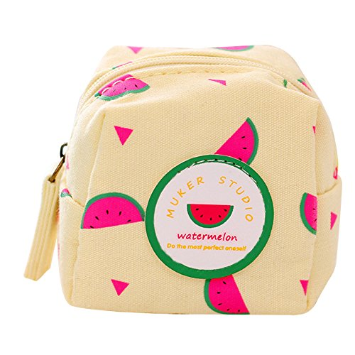 Luggage & Bags Fresh Style Creative Cubic Fruit Canvas Coin Purse Key Wallet Storage Organizer Bag Novelty Gift