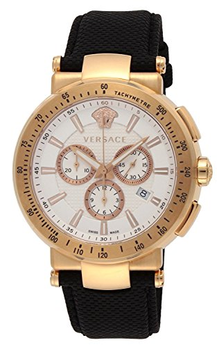 VERSACE-watch-MYSTIQUESPORT-White-Dial-Stainless-Steel-Case-Calf-leather-belt-VFG070013-Mens-parallel-import-goods