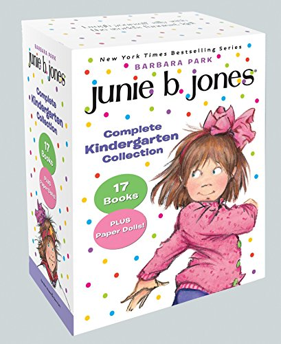 Junie B. Jones Complete Kindergarten Collection: Books 1-17 with paper dolls in boxed set by RHBYR (Image #7)