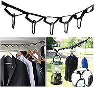 Campsite Storage Belt Camping Equipment, Outdoor Equipment Tent Lanyard Travel Hanger Clothesline Camping Nece