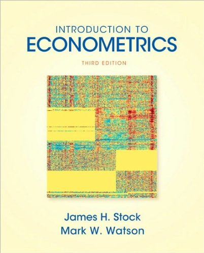 by Mark W. Watson,by James H Stock Introduction to Econometrics (3rd Edition) (Addison-Wesley Series in Economics)(text only)3rd (Third) edition[Hardcover]2010 ebook