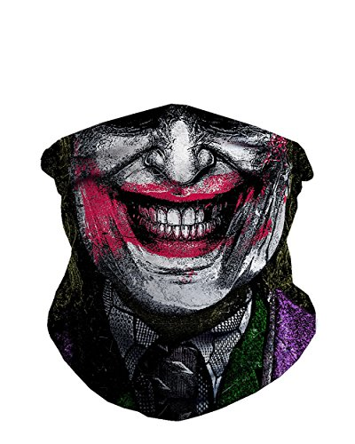 INTO THE AM Joker Seamless Mask Bandana -