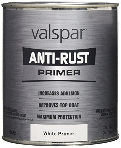 Valspar 21852Q White Metal Primer Enamel - 1 Quart