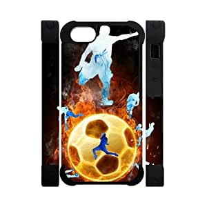 Canting_Good Soccer hot play sports Custom Dual-Protective 3D Polymer Case Shell Skin for IPhone 5