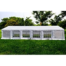 American Phoenix Canopy Tent foot Large White Party Tent Gazebo Canopy Commercial Fair Shelter Car Shelter Wedding Events Party Heavy Duty Tent
