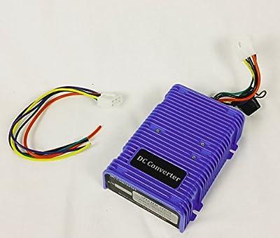 30 Amp Golf Cart Voltage Reducer (36v/48v to 12v) - 350 Watts Dual Power Source