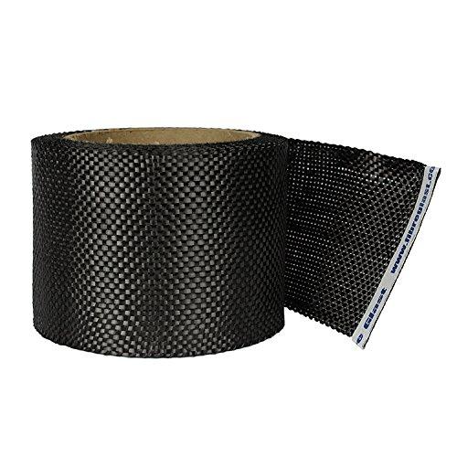(Fibre Glast Carbon Fiber Fabric Tape - 1 Inch - 10 Yard Roll)