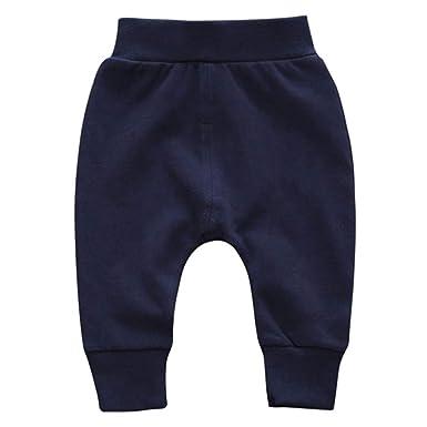 9819de3fe URMAGIC Pantalon Unisexe Bébé Enfants Garcons Filles Sarouel élastique  Pantalon de Jogging Chaud