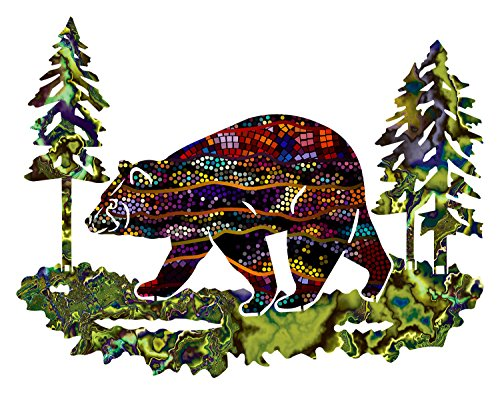 Next Innovations Metal Bear Wall Art Hawthorne Medium Bear