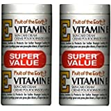 Fruit of the Earth Vitamin-E Cream 4 oz. + 4 oz. Jar (2-Pack) (2)