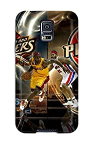 Hot Fashion Tpu Case For Galaxy S5- Cleveland Cavaliers Playoffs Defender Case Cover