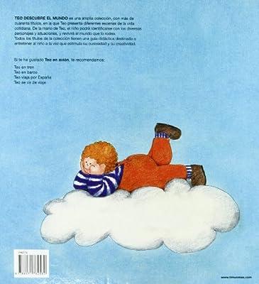 Teo en avión (Teo descubre el mundo): Amazon.es: Denou, Violeta: Libros