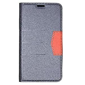 Mini - Grind Arenaceous Pattern PU Leather Full Body Case with Card Slot for Samsung Galaxy S5 i9600 ,Color: Red