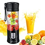 Portable Juicer Blender, Beckool Travel Personal USB Mixer Juice...