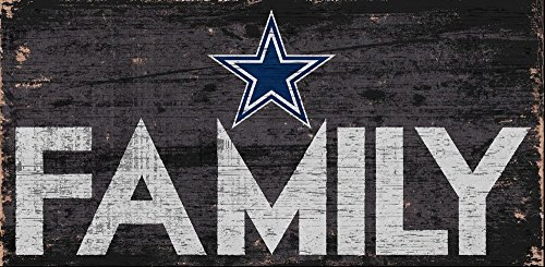 Fan Creations Dallas Cowboys Family Sign, Multi ()