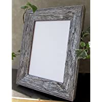 Custom Urban Rustic Wood Picture Photo Frame 11 x 14 inch; Available in Grey, White, Brown, Sand, Black