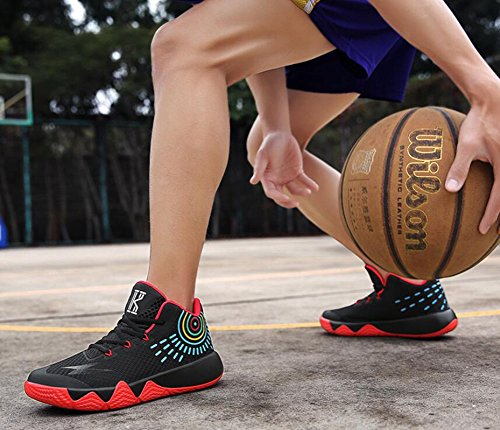 Shoes Men's C Top Boots 37 Booties High Shoes Basketball Ankle Color Athletic Sneakers HUAN Slip Non Size for Shoes Athletic YB1qqwd