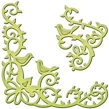 Spellbinders S2-095 Shapeabilities Die Template, Bird Scrolls