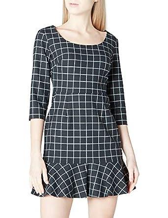 37455b3a4d03f adL Kadın Günlük Elbiseler Truvakar Kol Elbise: Amazon.com.tr