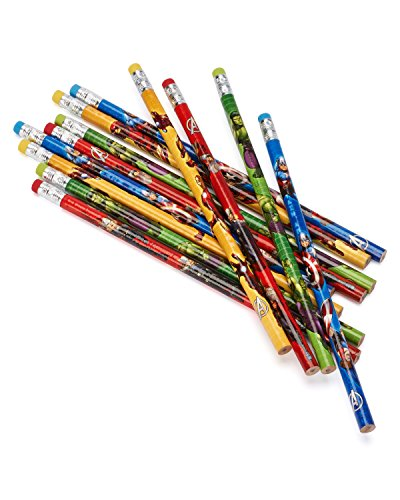 [12-Piece Avengers Pencils, Multicolored] (Incredible Hulk Costume Ideas)