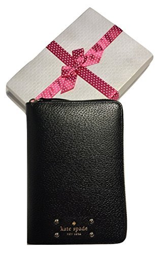 Kate Spade Wellesley Zip Around Personal Organizer Planner 2017 WLRU2577 (Black) by Kate Spade New York
