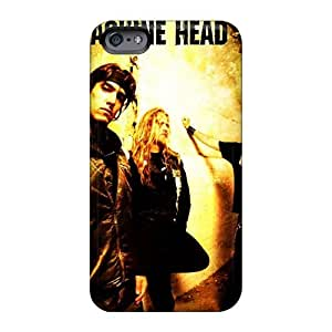 Excellent Cell-phone Hard Cover For Iphone 6 With Custom Nice Machine Head Band Image AlissaDubois