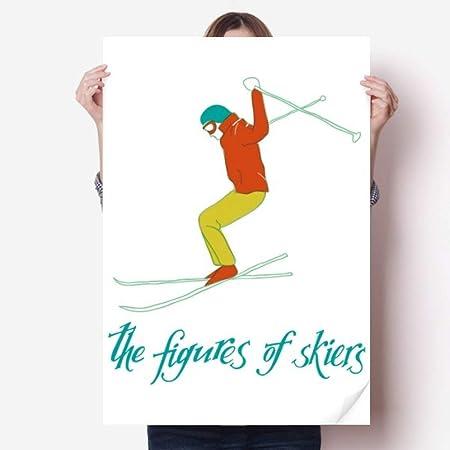 DIYthinker Ilustración Esquí Junta de esquí Deporte de ...