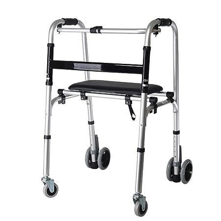Bbhhyy Ayudas para discapacitados Marco Zimmer, Andador ...