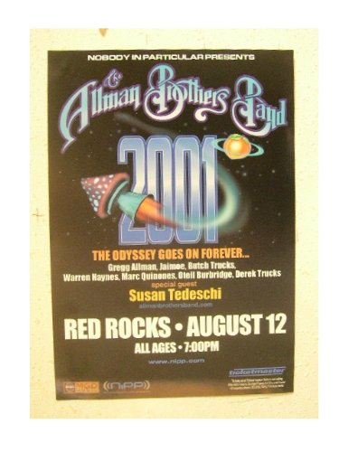 - The Allman Brothers Band Poster Handbill