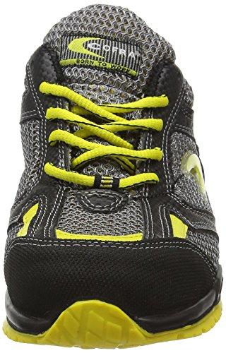"""Cofra 78450–007.w40taglia 40S1P SRC """"Innis sicurezza scarpe, colore: nero/grigio"""
