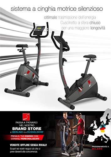 """Sportstech Ergometro ESX500 Marchio di qualità Tedesco- Eventi Video e Multiplayer App+5,5"""" Display, Volano da 12KG, Compatibile Cintura pulsazioni -Cyclette silenziosa 5 spesavip"""