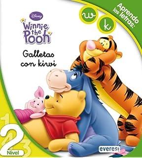 Winnie the Pooh. Galletas con kiwi. Lectura Nivel 2  Aprendo las letras  a33b01235dc